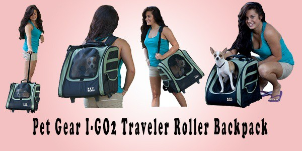 Pet Gear I-GO2 Traveler Roller Backpack