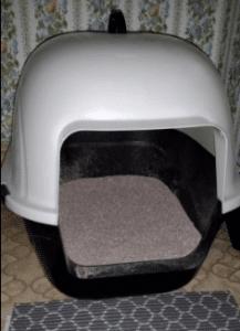 Favorite Portable Side Enter Covered Cat Litter Box