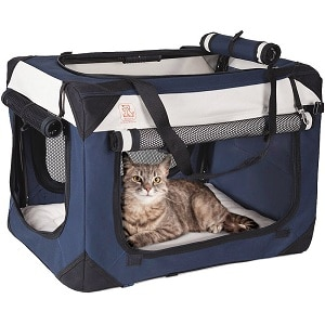 petluvs soothing premium pet carrier