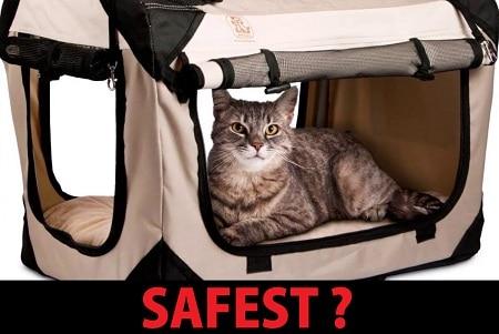safest cat carrier